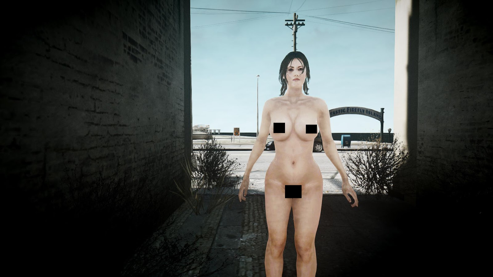 nude girl at gta