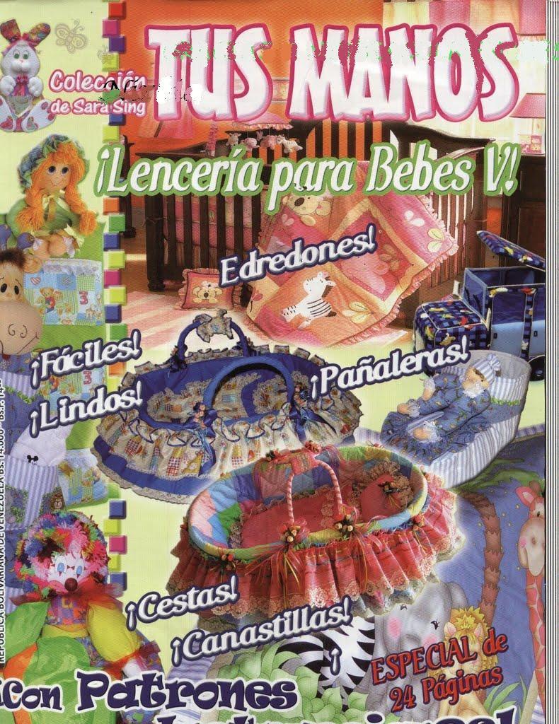 Revista Tus Manos Lenceria De Baño:Tus Manos Lenceria De Cocina Iv Manualidades En Foami Para
