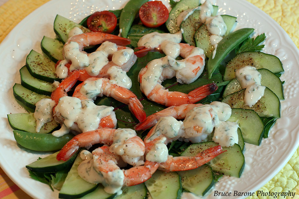 Bruce's Kitchen: Shrimp Salad With Horseradish Rémoulade