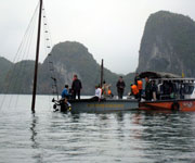 Halong bay accident