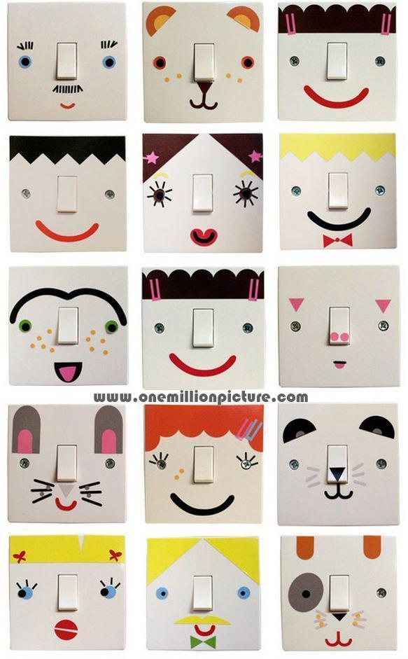Μεταμορφώστε τους διακόπτες στο παιδικό δωμάτιο