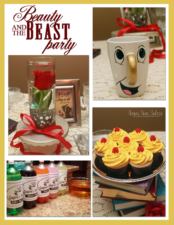 Sugar Bean Bakers Beauty the Beast Party