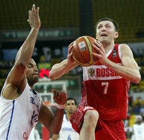 Rusia termina invicta la ronda eliminatoria al vencer a RD por 84-69