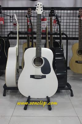Đàn Guitar Acoustic - Stagg SW203WH (EQ5)