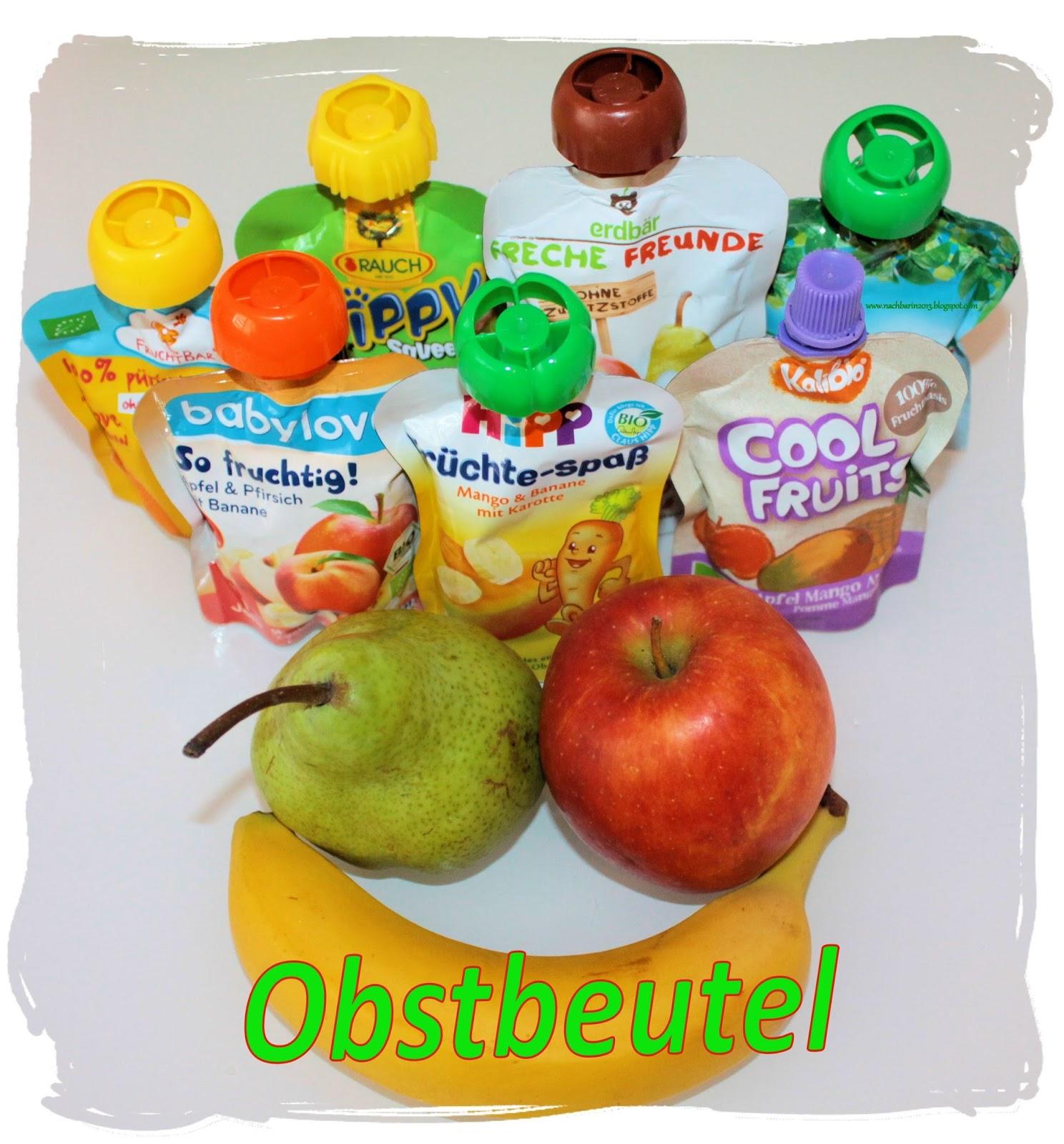 Die l stige nachbarin produktcheck obst quetschbeutel - Obst und gemuseplatte fur kindergarten ...