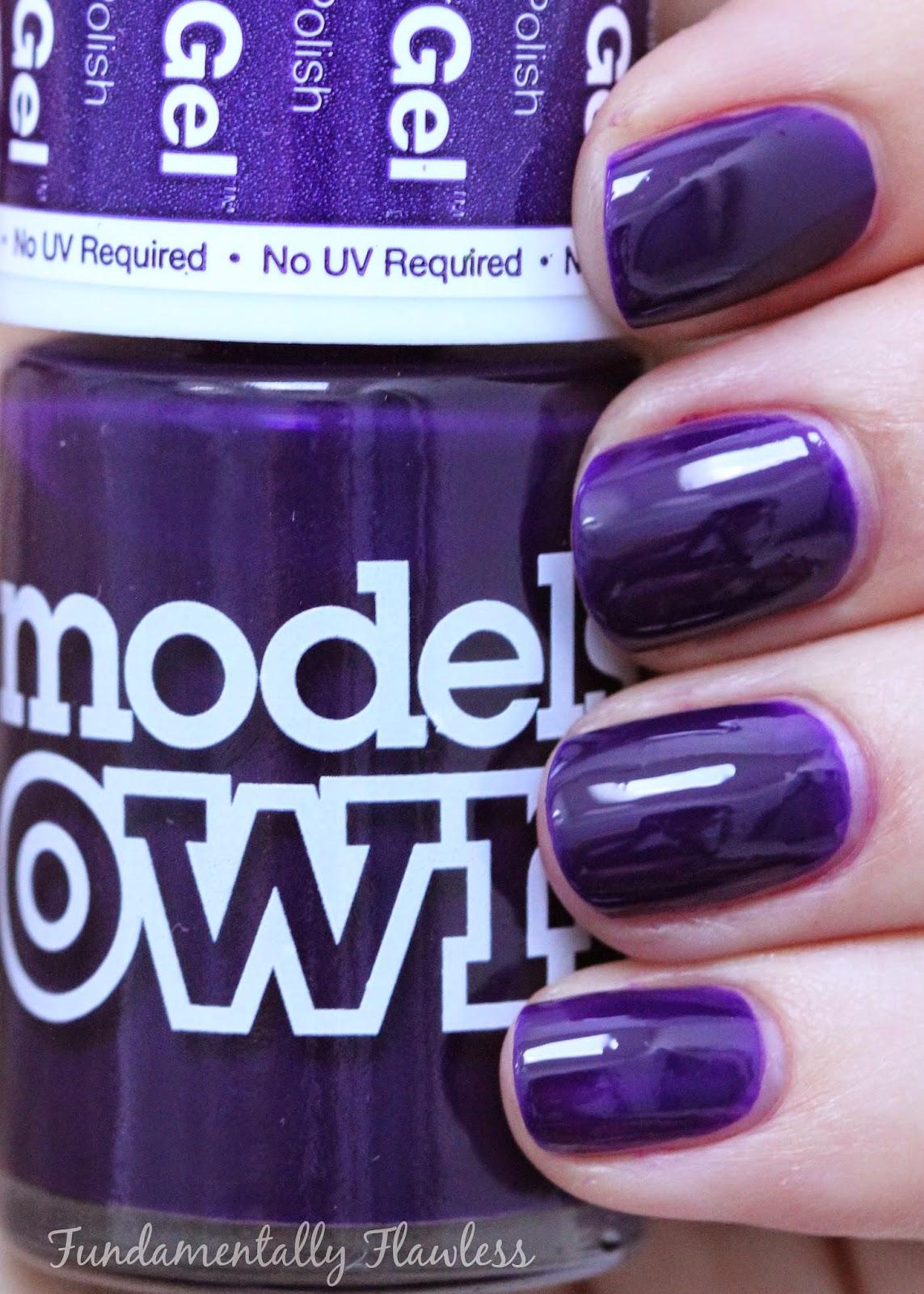 Models Own Purple Purple Swatch Models Own