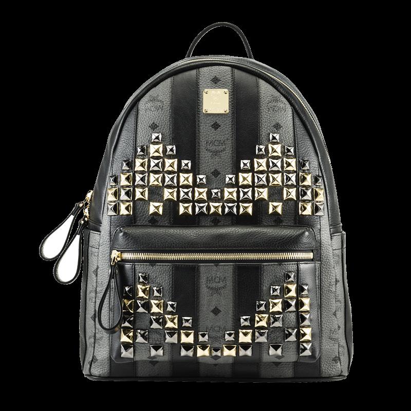 Sac Backpack MCM, Strasse Visetos, sac à dos