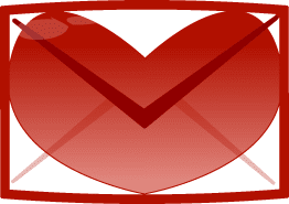 Google Mail Logo Herz