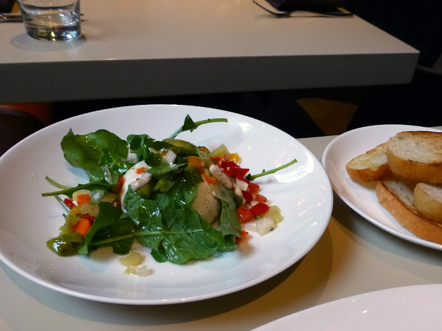 Burrata Cheese, Wood Chicago, review