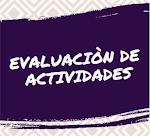Eval. Actividades Institucionales
