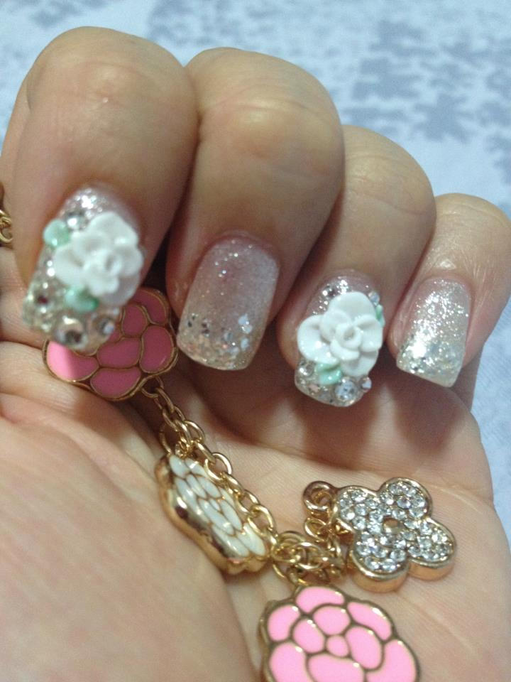 Celine Lo\'s Creations: Collection No.1: Bridal nails. Which one for ...
