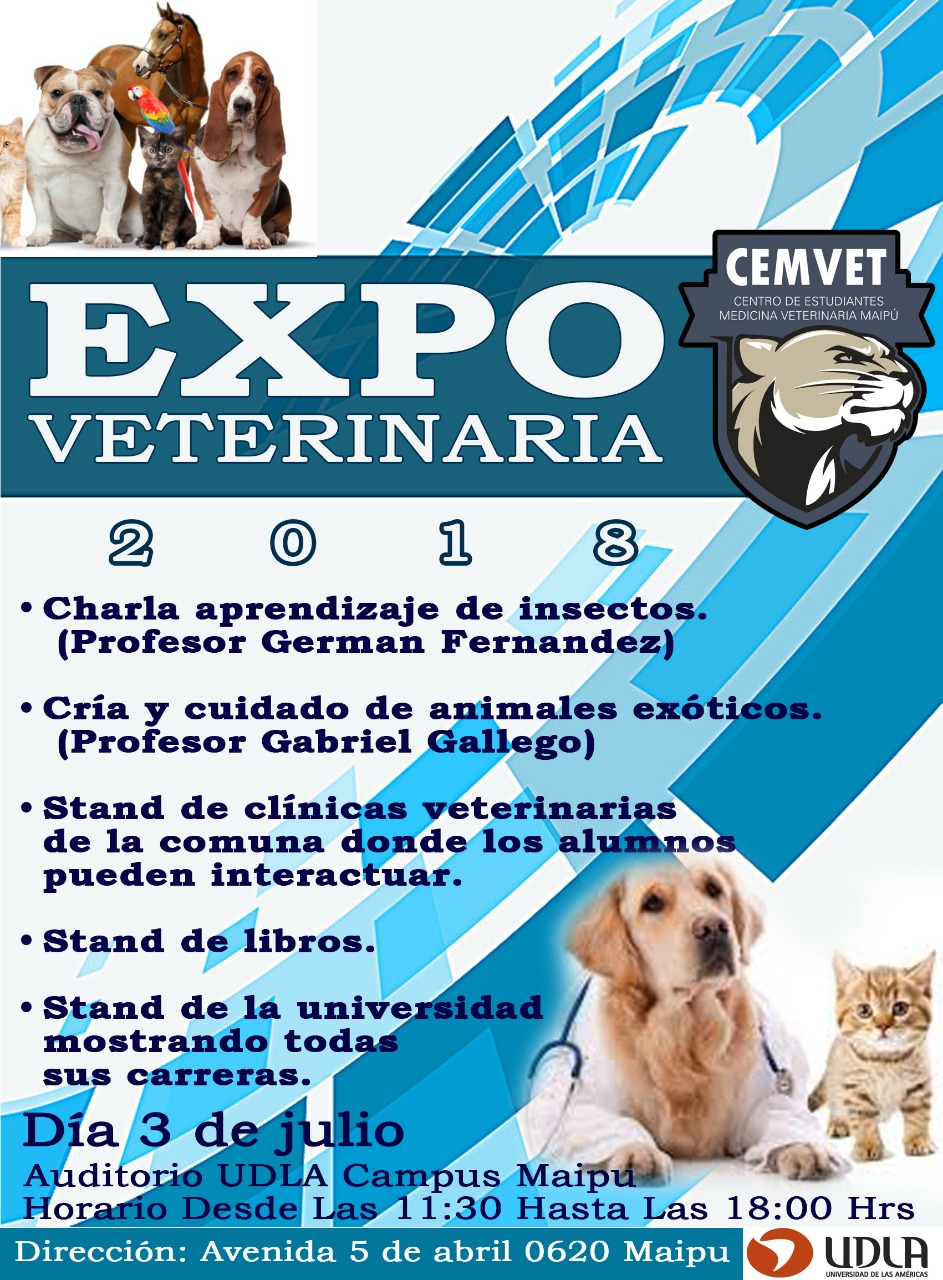 Expo Veterinaria 3 de julio Maipú