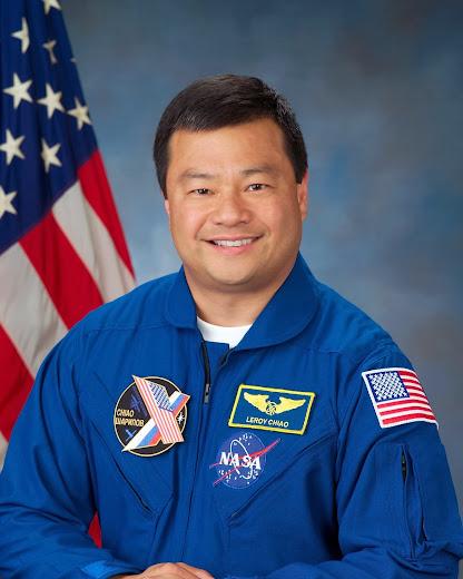 El astronauta estadounidense Leroy Chiao relata avistamiento Leroy_Chiao_Astronaut