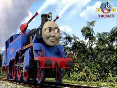 Steam train Belle the fire engine Thomas & Friends DVD Day of the diesels film from Lionsgate
