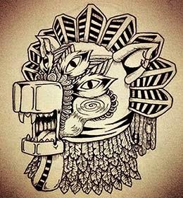 Desenhos de tatuagem com lobos