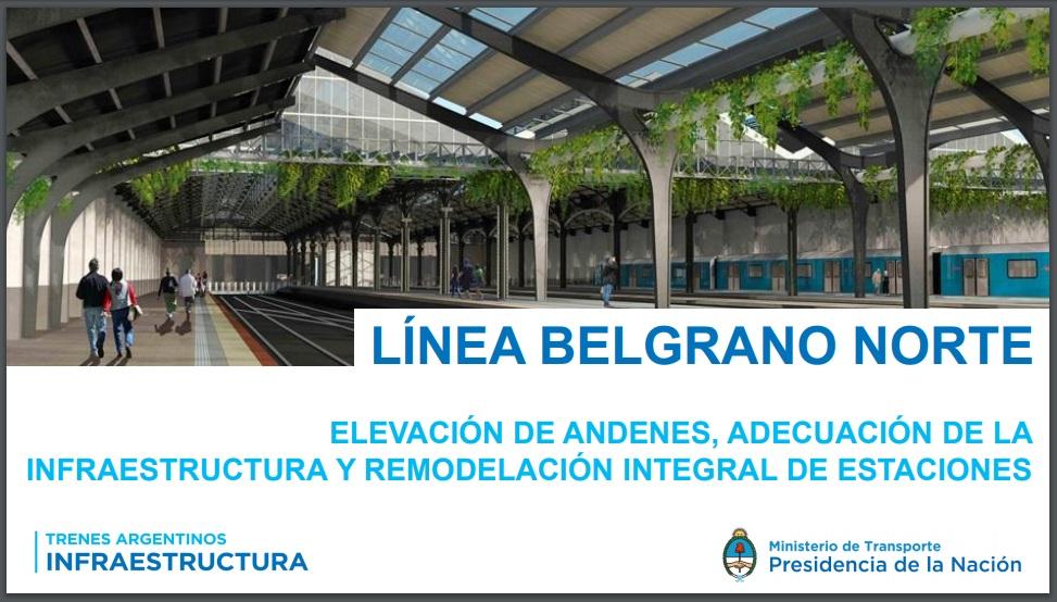 A.P.D.F.A. apoyando el crecimiento y desarrollo de la Linea Belgrano Norte Metropolitana.