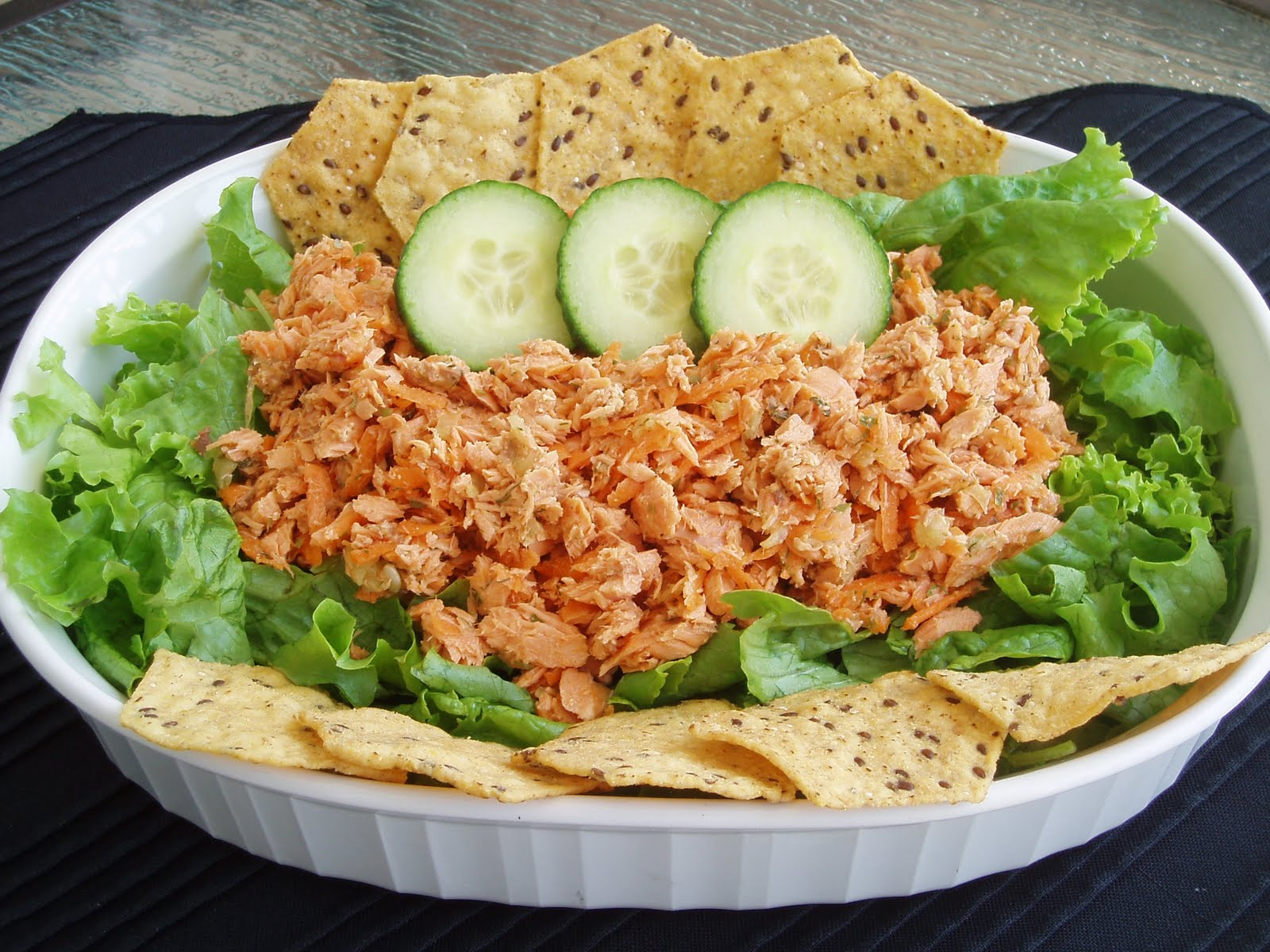 Salmon Salad - No Mayo - My First Blogaversary Gift To You