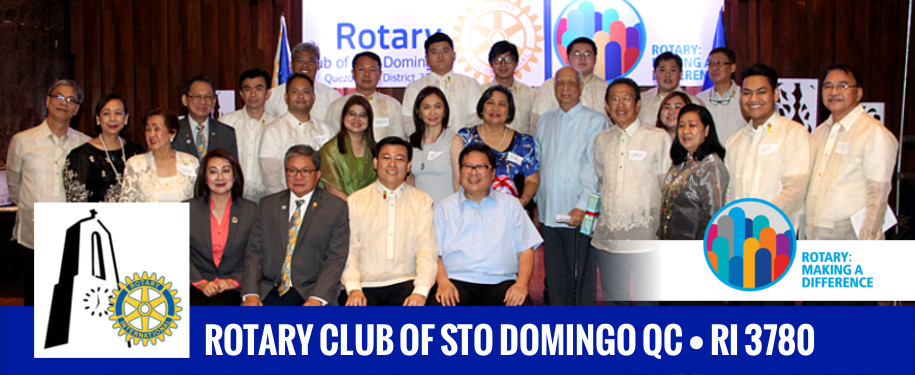 Rotary Club of Sto Domingo QC Philippines
