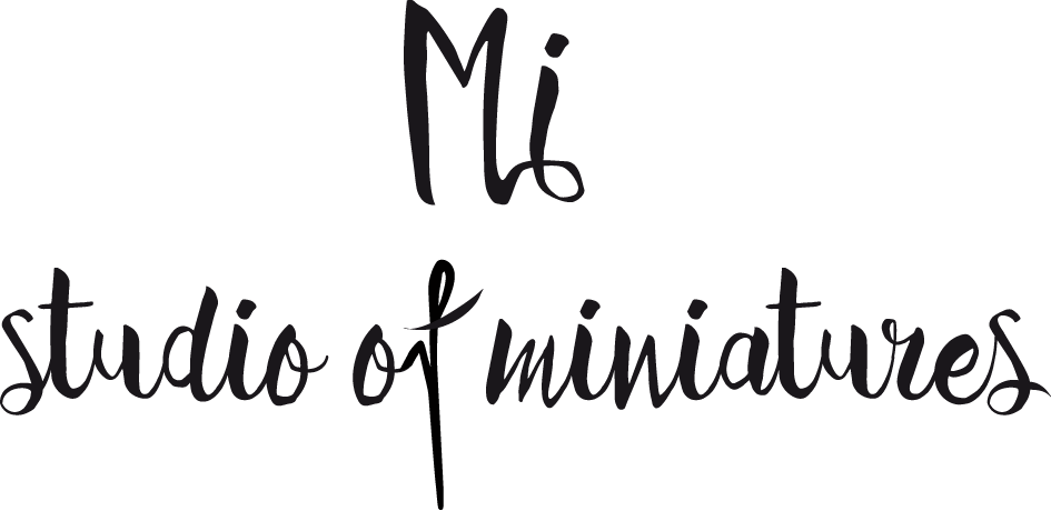 Mi-studio of miniatures