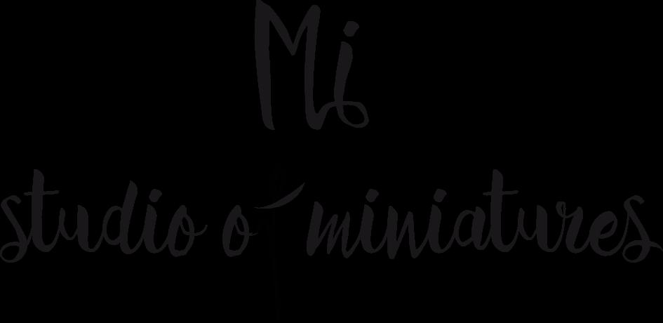 Mi-studio of miniatures