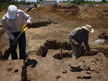 Salvamento arqueológico en el sector G1 del Proyecto LIBRAMIENTO.