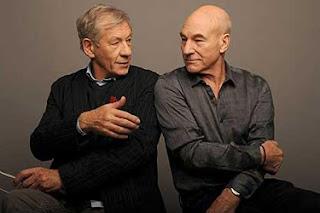 Patrick Stewart e Ian McKellen