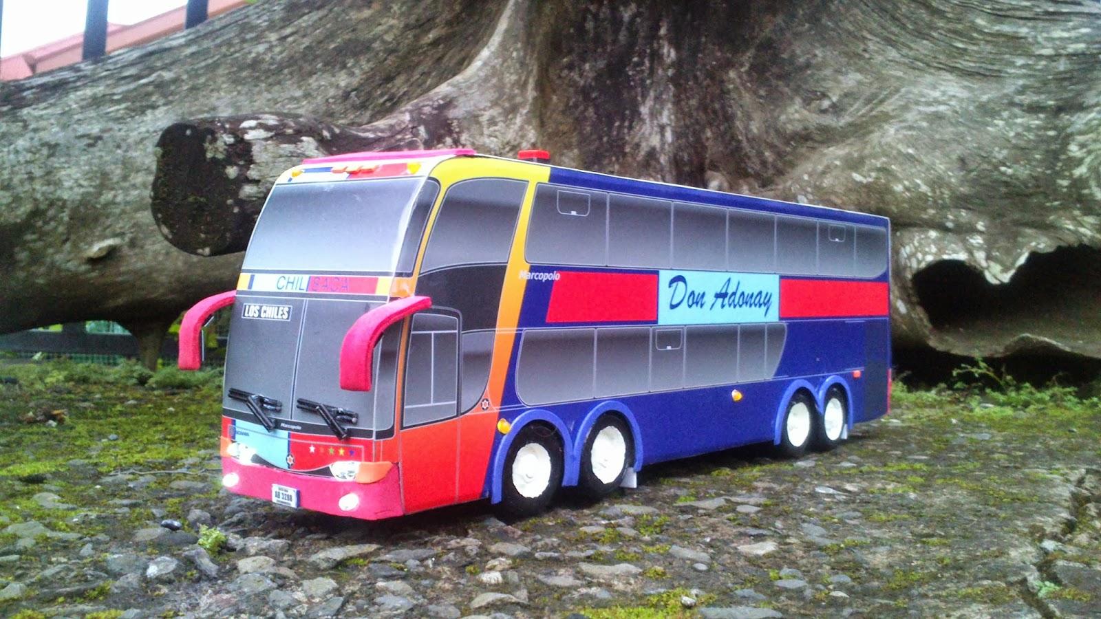 Autobuses a Escala: El 29, Don Adonay, Marcopolo Paradiso 1800DD G6 ...