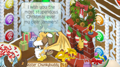 Animal Jam Christmas Gifts But right now Christmas is