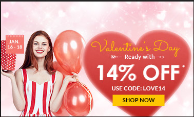 Rosegal Valentine's Promo