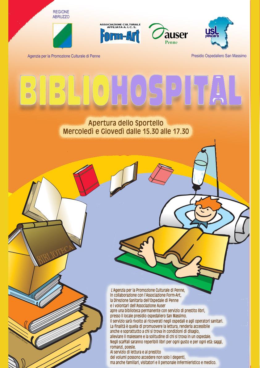 Inaugurazione biblioteca in ospedale