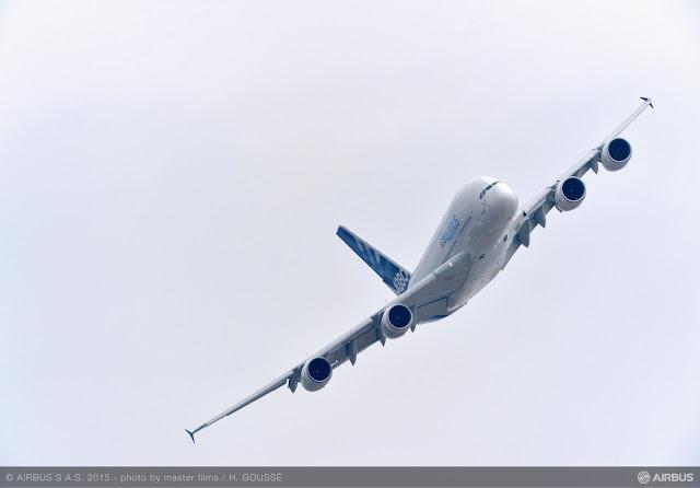 É MAIS QUE VOAR | Airbus gerou 57 bilhões de dólares de encomendas de aviões no Paris Air Show 2015