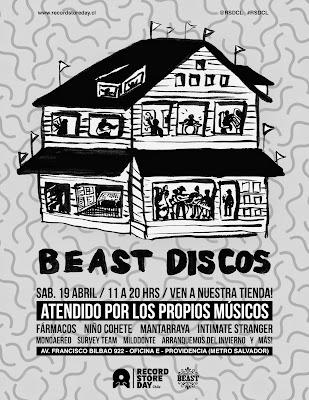 Record Store Day en Chile en Beast Discos