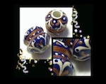 ROYAL FILIGREE Unique Handmade Tube Beads