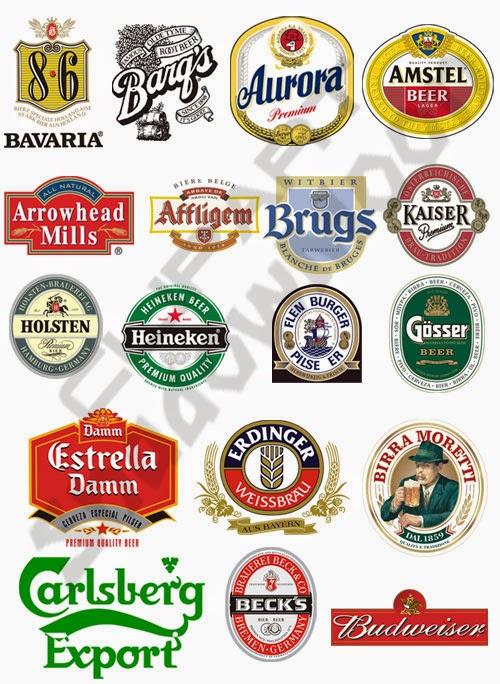 Cerveza poker logo vector