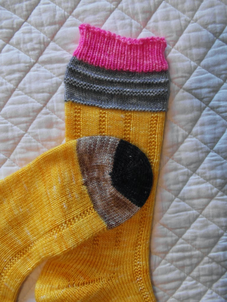 Lazy Daisy Knits by Amanda: No. 2 Pencil Knit Socks