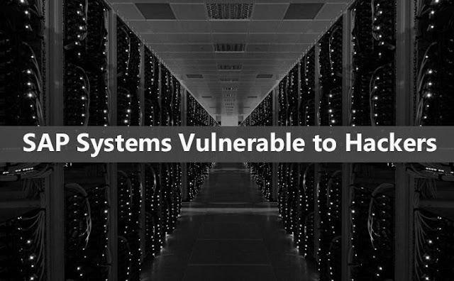 Cerca del 95% de sistemas SAP son vulnerables