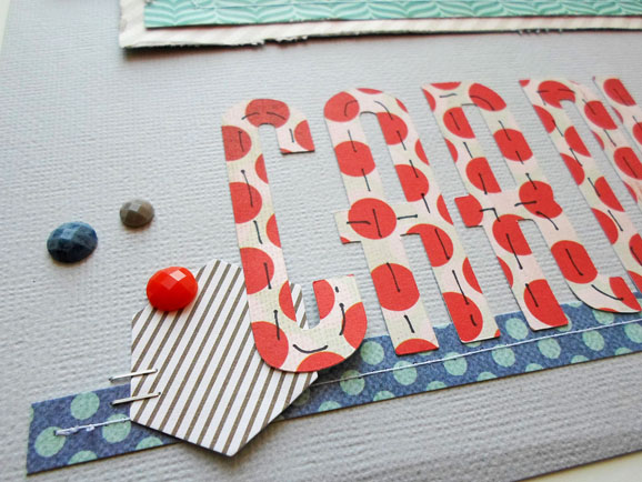Scrapbook Embellishment Cluster