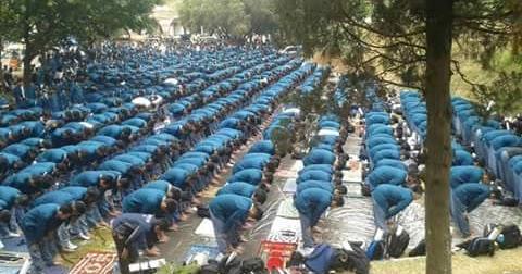 Masyallah, Ospek Mahasiswa Baru ITB Bak Shalat Jum'at
