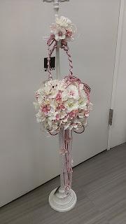 桜のボールブーケ
