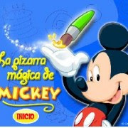 Jugar a la pizarra magica de mickey
