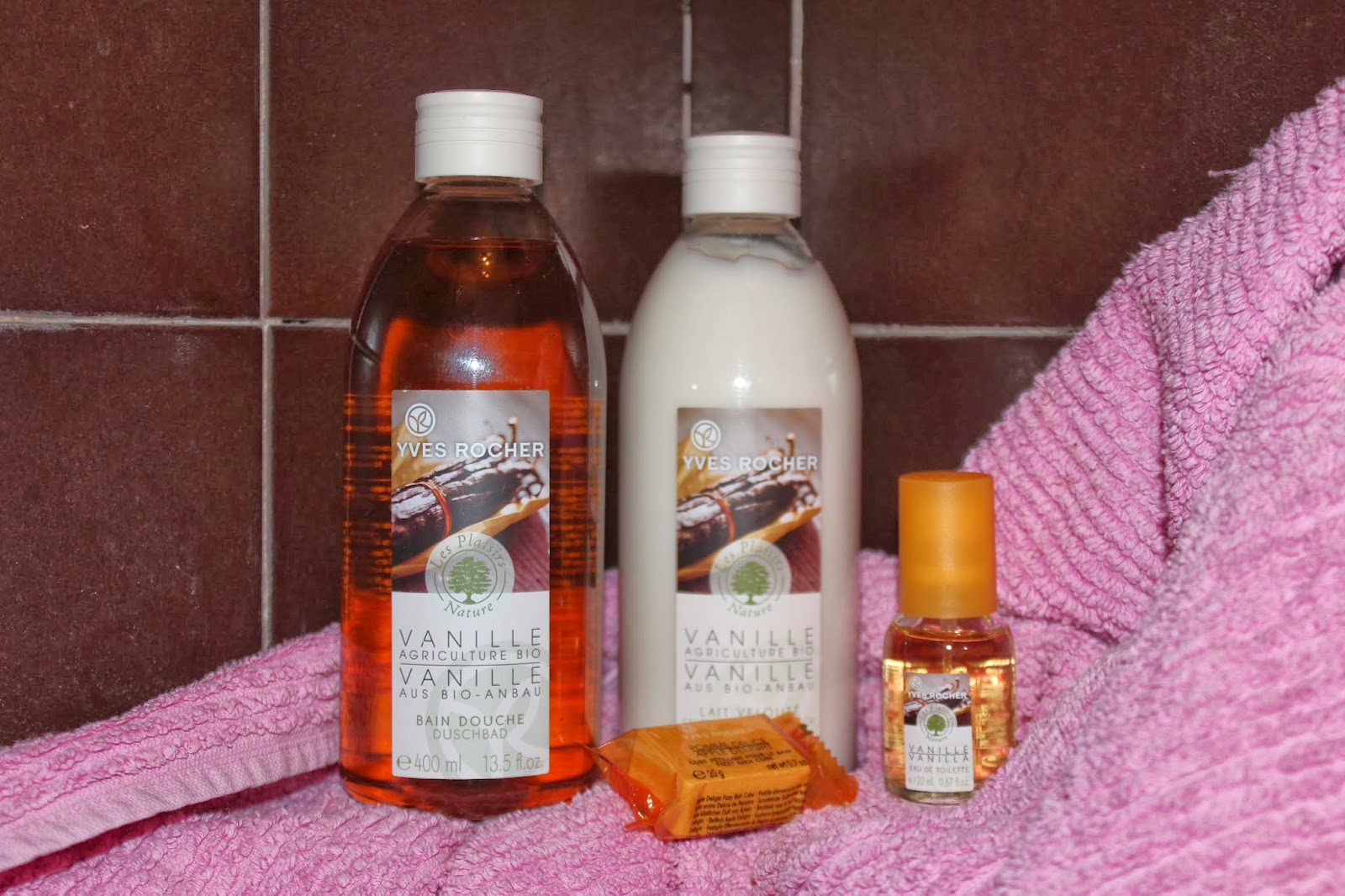 Loveelle addict yves rocher prodotti eco bio - Bagno doccia yves rocher ...