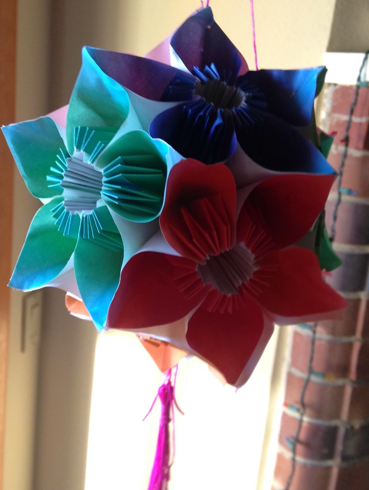 Nested Tori Origami Dodecahedron