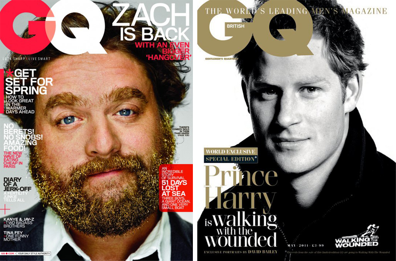 zach galifianakis gq interview. GQ US: Both covers decided to