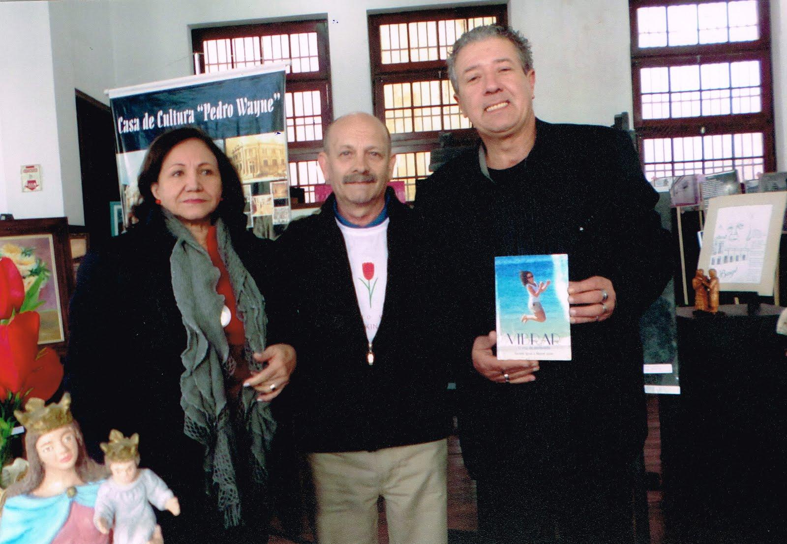 Lú, Manoel Ianzer e Sird Carol Marinho
