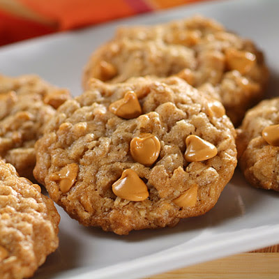 The Twelve Days of Christmas Cookies: Oatmeal Butterscotch Cookies