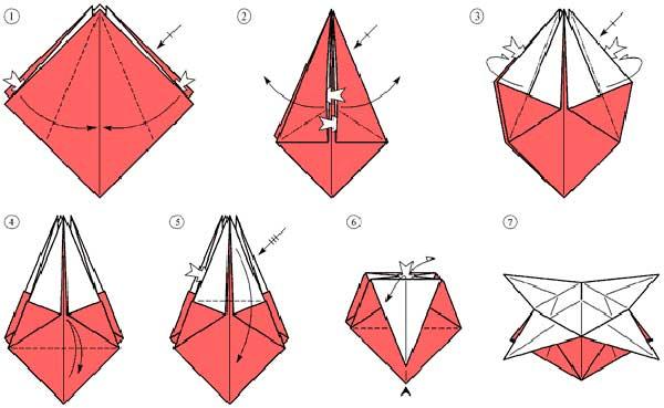 Как сделать оригами саму себя