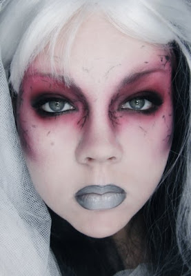 makeup your jangsara tutorial mac halloween zombie chic