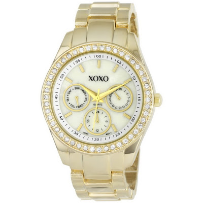 Luxuryfashions xoxo gold watches for women for Watches xoxo