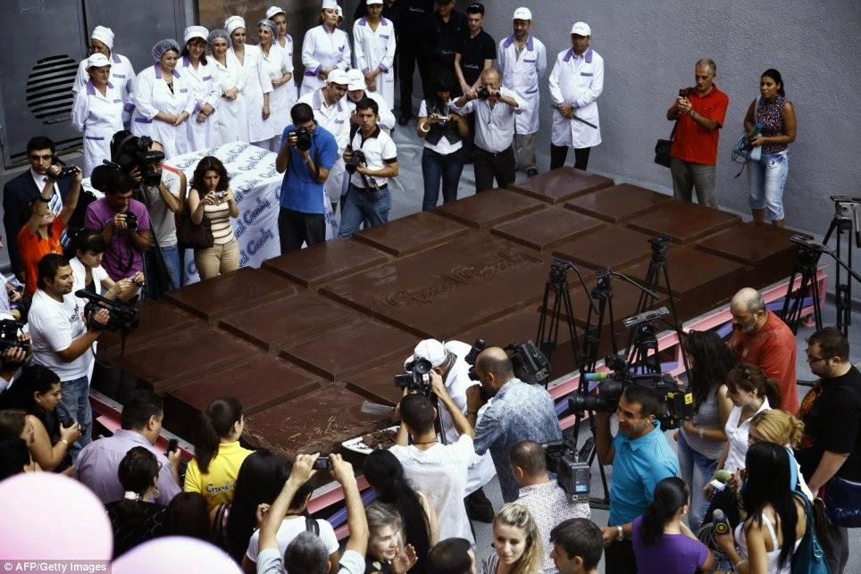 Größte Schokolade der Welt