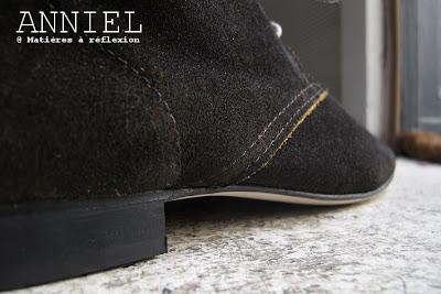 Desert boots Anniel en daim choco